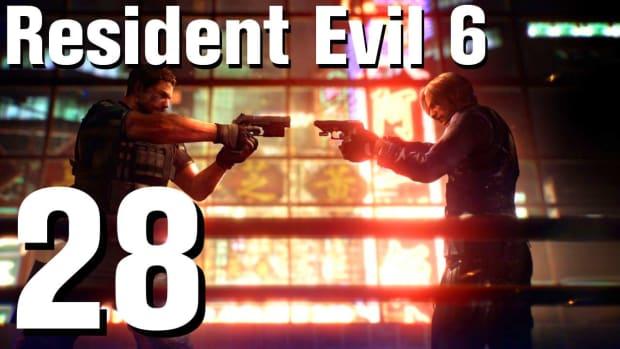 ZB. Resident Evil 6 Walkthrough Part 28 - Chapter 3 Promo Image