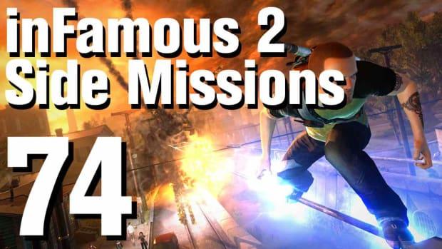 ZZZZN. inFamous 2 Walkthrough Side Missions Part 74: Hidden Package - Graveyard Promo Image