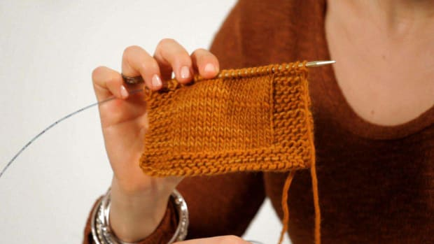 E. How to Make a Border in Knitting Promo Image