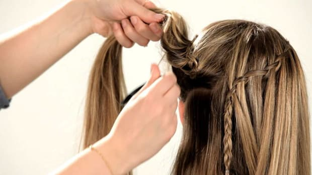 A. How to Do a Waterfall Braid Promo Image
