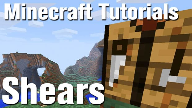 ZN. Minecraft Tutorial: How to Make shears in Minecraft Promo Image