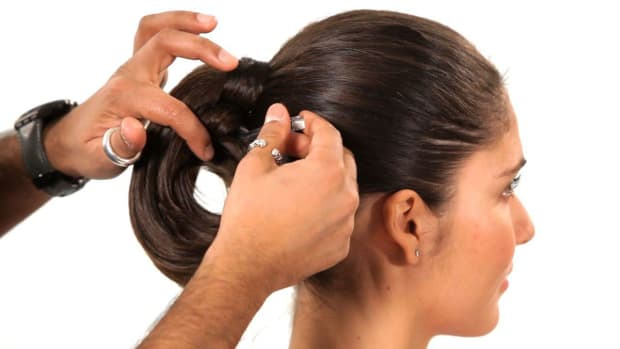 G. How to Do a Structured Loop Ponytail Promo Image