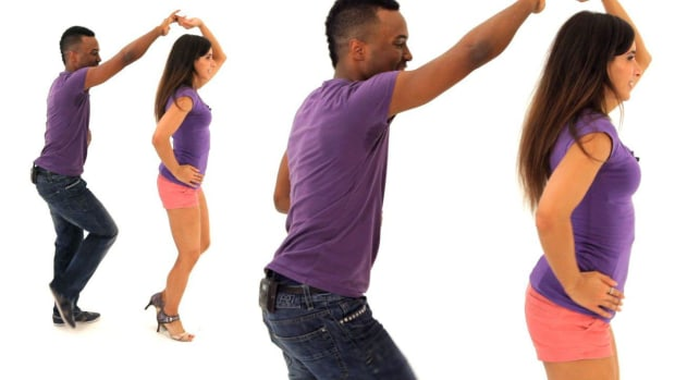 ZM. How to Do Intermediate Bachata Footwork with a Partner Promo Image