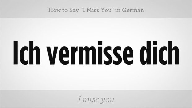 "ZT. How to Say ""I Miss You"" in German Promo Image"