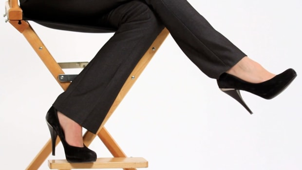 E. How to Stay Comfortable When Working in High Heels Promo Image