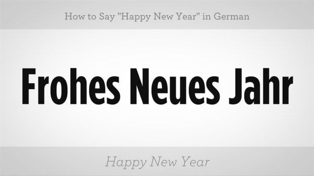 "ZZN. How to Say ""Happy New Year"" in German Promo Image"