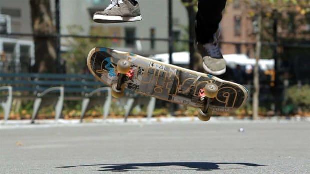U. How to Heelflip on a Skateboard Promo Image