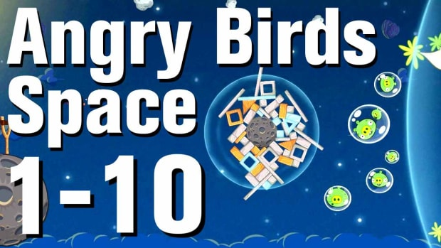 J. Angry Birds: Space Walkthrough Level 1-10 Promo Image