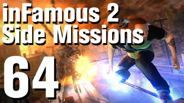ZZZZD. inFamous 2 Walkthrough Side Missions Part 64: Ice Storm Promo Image