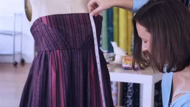 A. Top 5 Tips for Sewing a Dress Promo Image