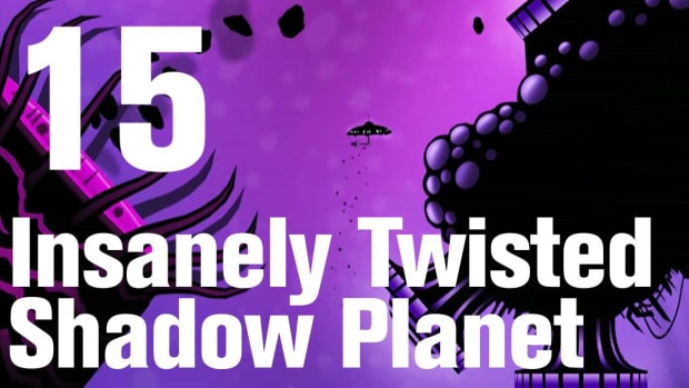 O. Insanely Twisted Shadow Planet Walkthrough Part 15: Ice Promo Image