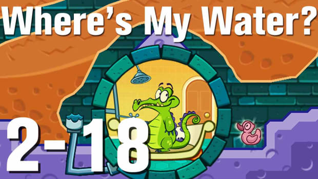 ZL. Where's My Water Walkthrough Level 2-18 Promo Image