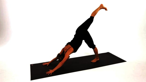 ZD. How to Do a Downward Dog Leg Lift Promo Image