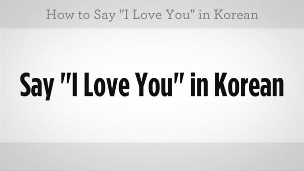 "U. How to Say ""I Love You"" in Korean Promo Image"