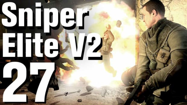 ZA. Sniper Elite V2 Walkthrough Part 27 - Karlshorst Command Post Promo Image