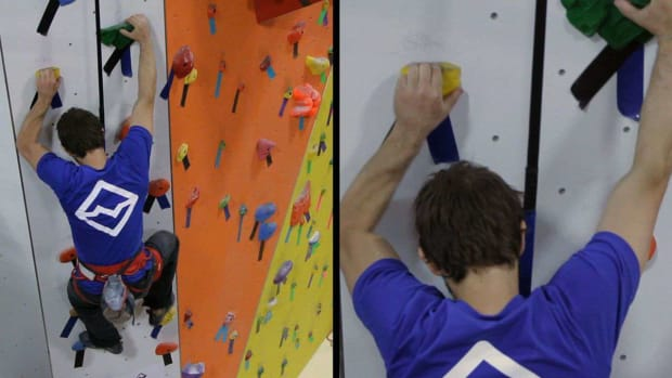 L. How to Use an Auto-Belay Device for Indoor Climbing Promo Image