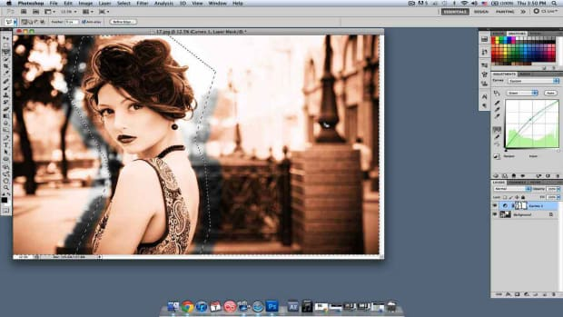 T. How to Change the Background Color in Photoshop Promo Image