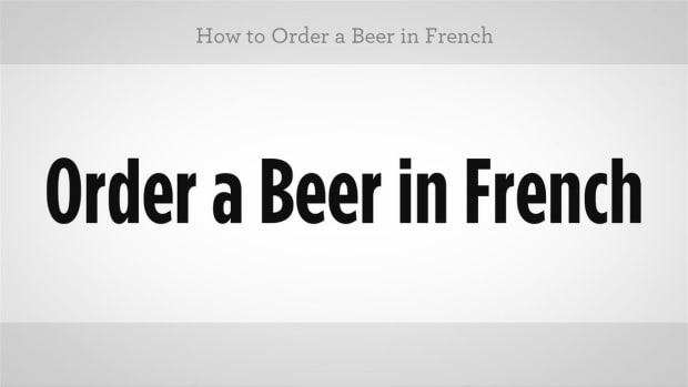 ZM. How to Order a Beer in French Promo Image
