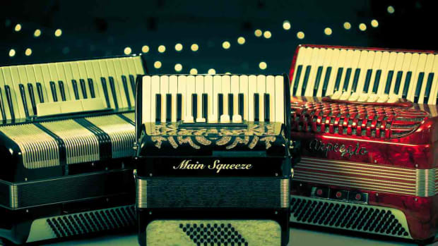 E. Different Types of Piano Accordions Promo Image
