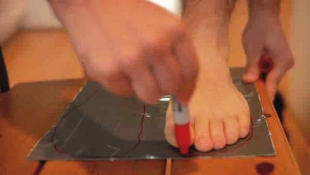 D. How to Craft Duct Tape Flip-Flops Promo Image