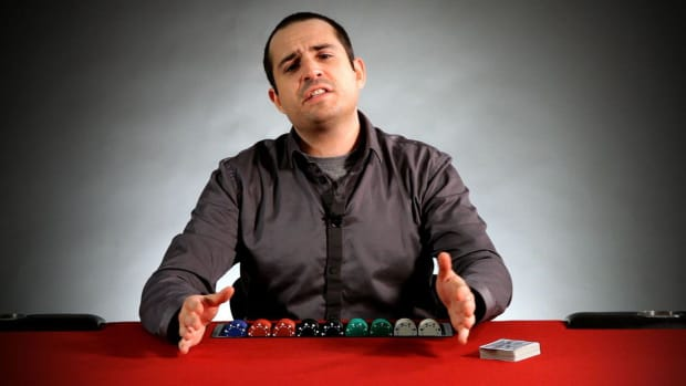 T. Tilting in Poker Promo Image