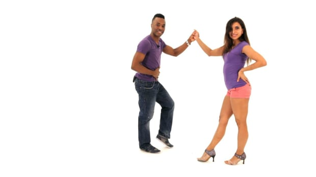 ZN. How to Do Advanced Bachata Footwork with a Partner Promo Image
