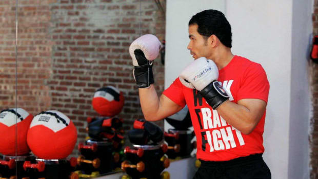 E. How to Do a Kickboxing Uppercut Promo Image