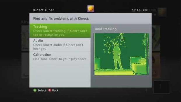 K. Kinect Sensor Tracking Promo Image