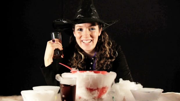 A. How to Make a Smoking Punch Bowl with Dry Ice Promo Image