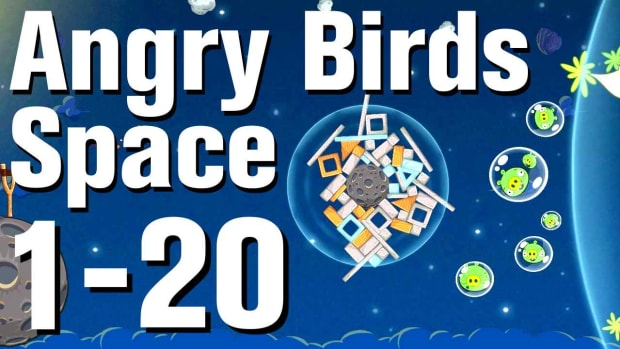 T. Angry Birds: Space Walkthrough Level 1-20 Promo Image