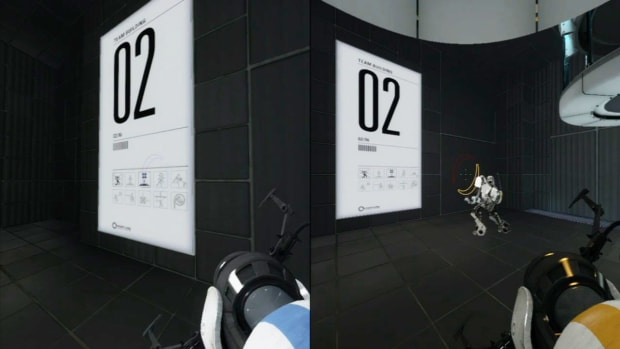 ZZJ. Portal 2 Co-op Walkthrough / Course 1 - Part 2 - Room 02/06 Promo Image