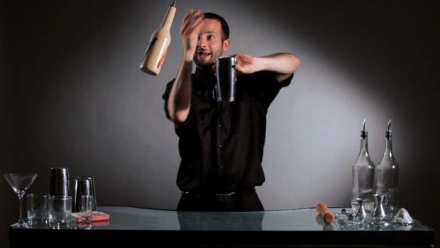 ZG. How to Pour Liquor with Flair Promo Image