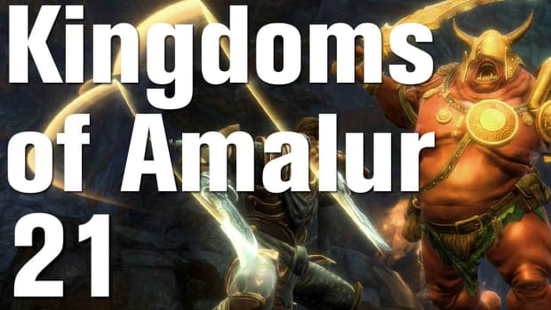 U. Kingdoms of Amalur: Reckoning Walkthrough Part 21 - Templar Octienne Promo Image