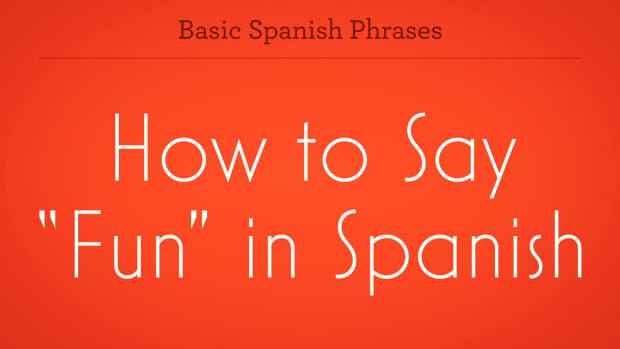 "ZT. How to Say ""Fun"" in Spanish Promo Image"