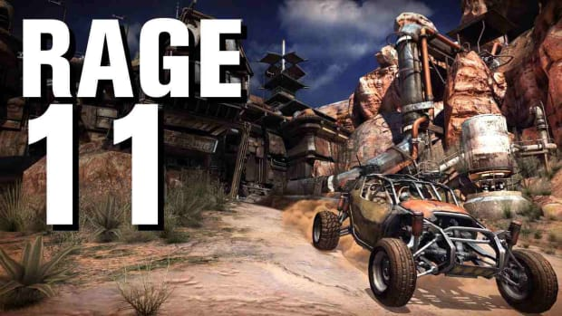 K. RAGE Walkthrough Part 11 - Arming Your Buggy and Dan's Message Promo Image