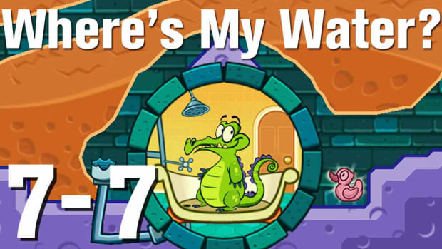 ZZZZW. Where's My Water Walkthrough Level 7-7 Promo Image