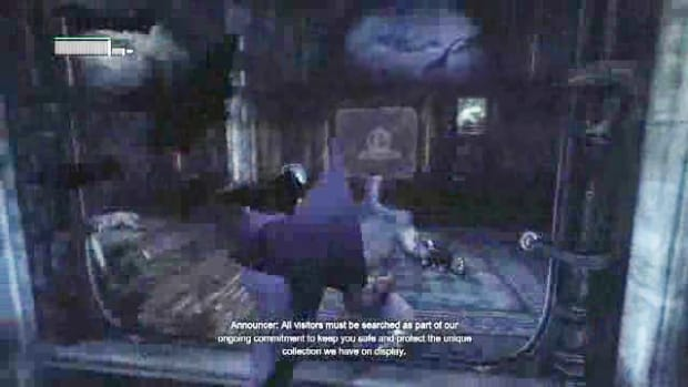 N. Batman Arkham City Walkthrough Part 14 - Museum - Finding Penguin's Disruptors Promo Image