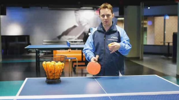 B. 4 Points to Hit on a Ball for Table Tennis aka Ping Pong Promo Image