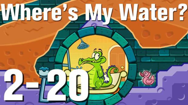 ZN. Where's My Water Walkthrough Level 2-20 Promo Image