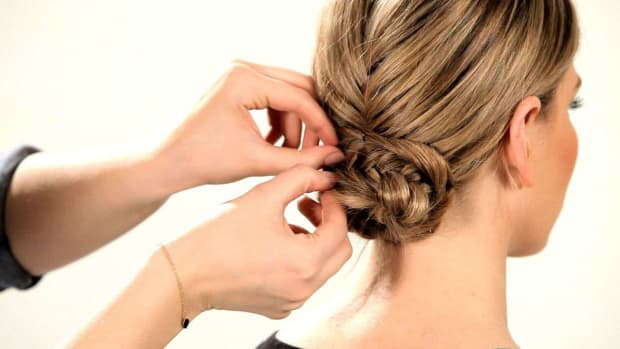 D. How to Do a Fishtail Updo Promo Image