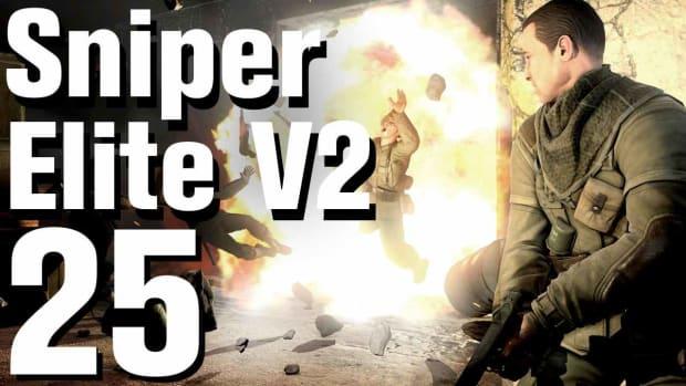 Y. Sniper Elite V2 Walkthrough Part 25 - Tiergarten Flak Tower Promo Image