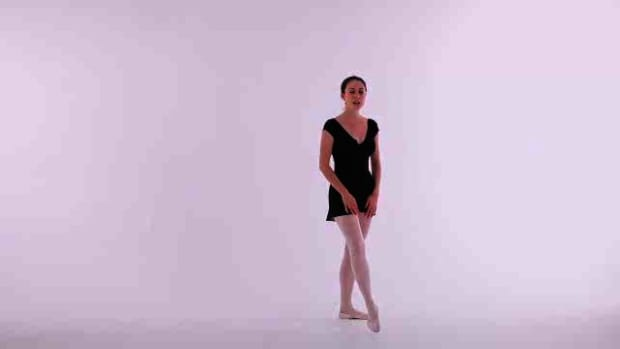 P. How to Do a Temps Leve in Ballet Promo Image