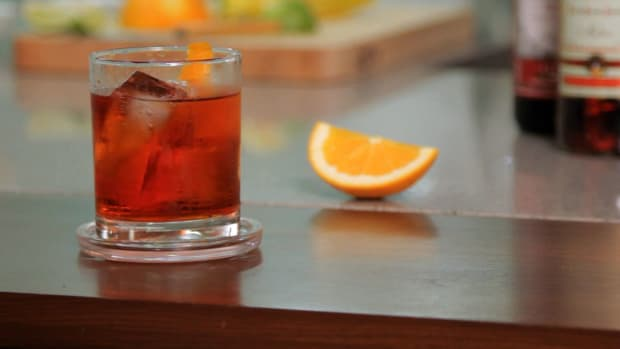 T. How to Make a Negroni aka Boulevardier Promo Image