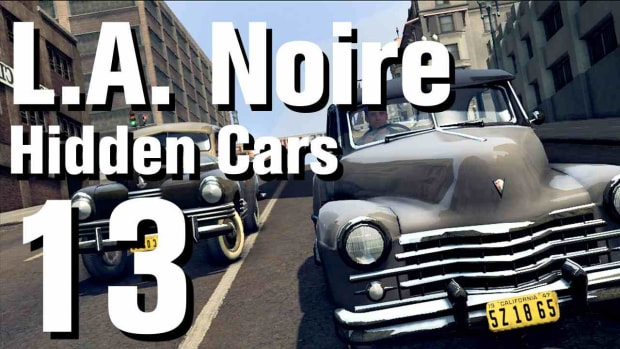 "M. L.A. Noire Walkthrough Hidden Cars 13: ""Tucker Torpedo"" Promo Image"