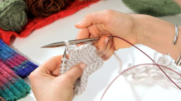 ZF. How to Bind Off in Knitting Promo Image