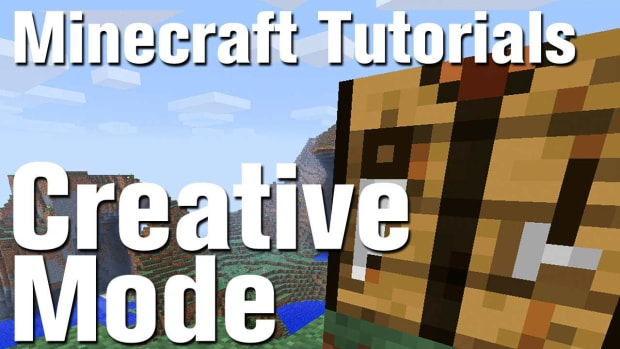 ZZK. Minecraft Tutorial: How to Use Creative Mode in Minecraft Promo Image