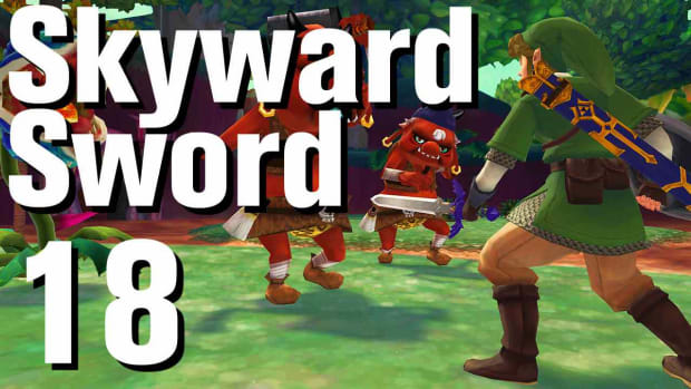 R. Zelda: Skyward Sword Walkthrough Part 18 - Faron Woods Goddess Cubes Promo Image
