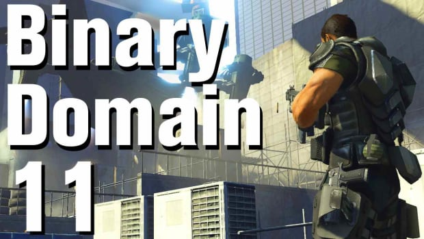 K. Binary Domain Walkthrough Part 11 - Rooftops Promo Image