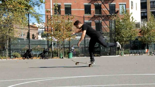 ZD. How to Do a 1-Foot Manual on a Skateboard Promo Image