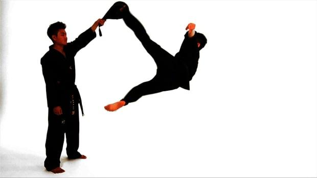 ZS. How to Do a Bolley Kick in Taekwondo Promo Image